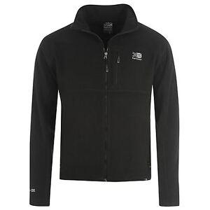 Image is loading Karrimor-Mens-Fleece-Jacket-Zip-Through-Top-Long- 79be5f9b2