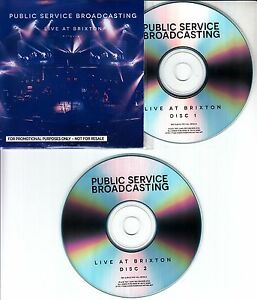 PUBLIC-SERVICE-BROADCASTING-Live-At-Brixton-17-track-promo-test-2-CD