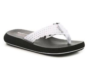 11abb5d6c96b Image is loading Skechers-Cali-Asana-New-Age-Embellished-White-Sandals-