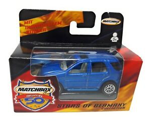 Matchbox-Superfast-1-75-Mercedes-ML-430-blau-Deutsches-Modell-Stars-of-Germany