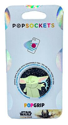 Baby Yoda Phone Grip-the child phone grip-yoda phone grip-glitter phone grip-star wars phone grip-star wars girl