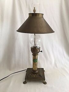 Image Is Loading Vintage Brass Lamp Paris Orient Express Istanbul Claw