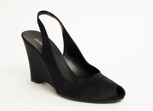 Jil Sander Satin Slingback Wedges fashion Style 1Zf9waI