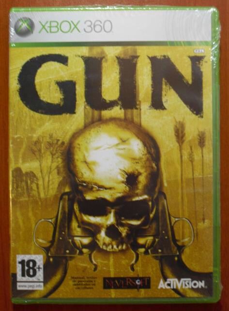 GUN, NeverSoft, Activision, Xbox 360, Pal-España ¡NUEVO Y PRECINTADO A ESTRENAR!
