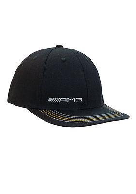 Mercedes Benz Men's AMG Black Stretch Fit Hat