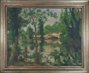 RURAL-LANDSCAPE-OIL-ON-CANVAS-SIGNED-JOAN-COSTA-XXTH-CENTURY