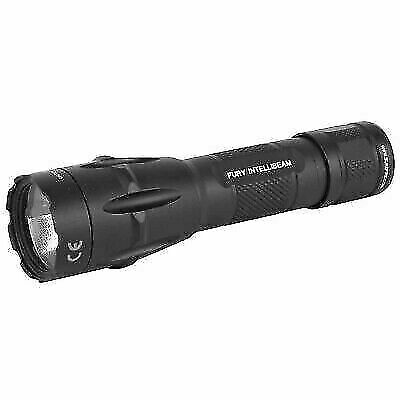 LED Torch USB Rechargeable Flashlight Police Zoomable Camping Hiking Lamp IB