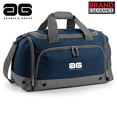 Adonis /& Grace Luxury Vintage Canvas Holdall Carry On Gym Bag