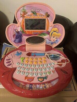 VTech Disney Princess Cinderella Magic Wand Laptop ...