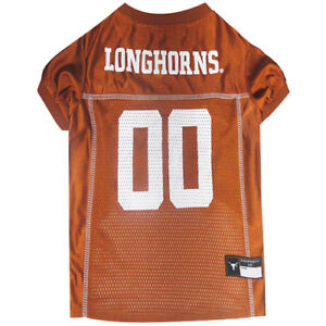 Texas-Longhorns-NCAA-Pets-First-Licensed-Dog-Pet-Mesh-Jersey-XS-2XL-NWT