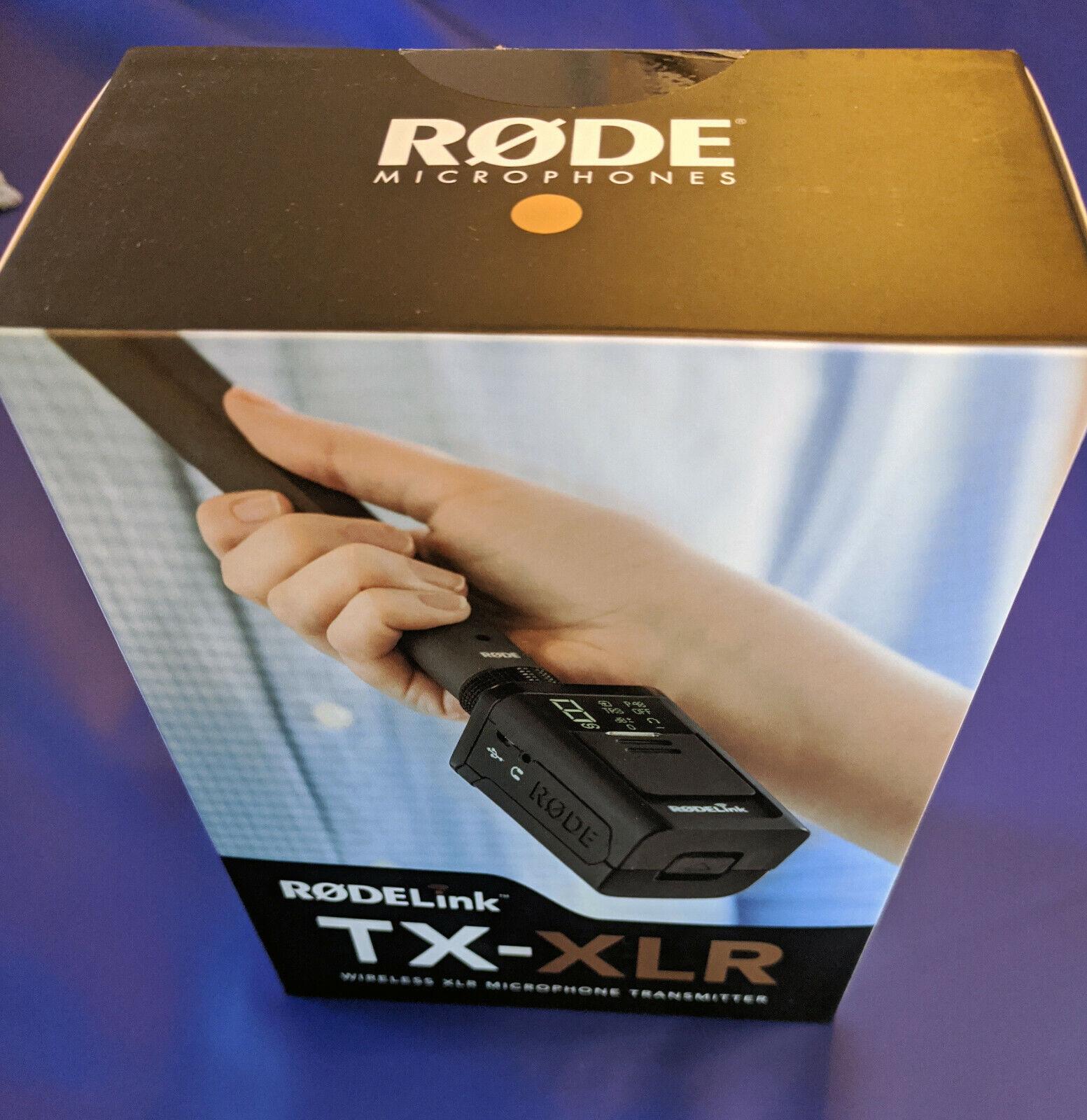 Rode Microphones TX-XLR XLR Wireless Transmitter for RODElink Wireless System
