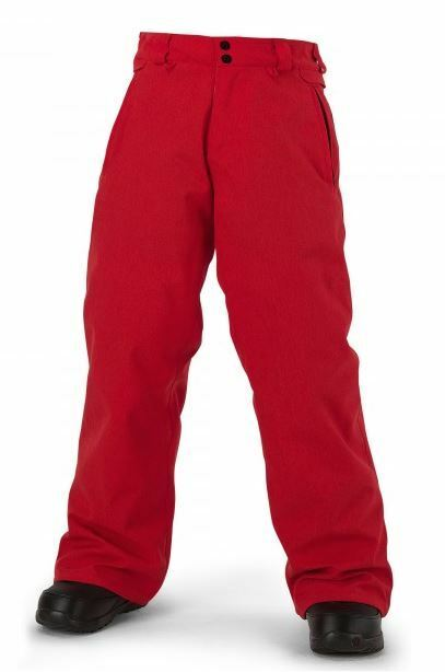 2016 INSULATED NWT YOUTH BOYS VOLCOM GRIMSHAW INSULATED 2016 SNOWBOARD PANT 100 M fire ROT d07a87