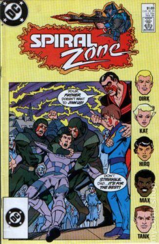 Spiral Zone #1 VF 1988 Stock Image