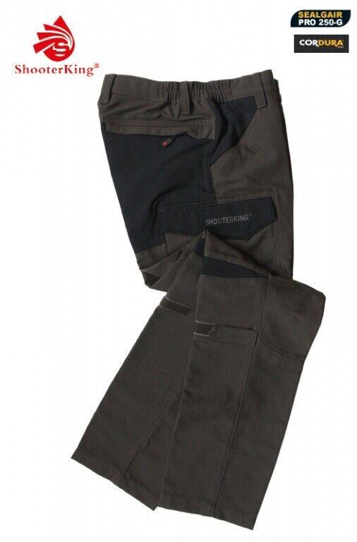 Shooterking Pantalón de Caza Active Lite Cordura Mujer Tamaño 2XL Ajustado Caza