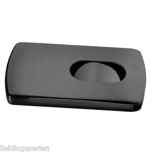 1-Schwarz-Visitenkarten-Etui-Business-Card-Box-Edelstahl-Visitenkartenhalter-L-P