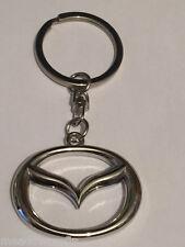 Mazda Key Ring NEW - Silver Chain Keyring