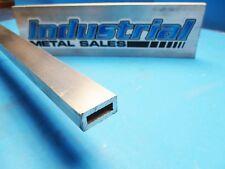 12 X 1 X 72 Long X 18 Wall 6063 T52 Aluminum Rectangle Tube 500 X 1