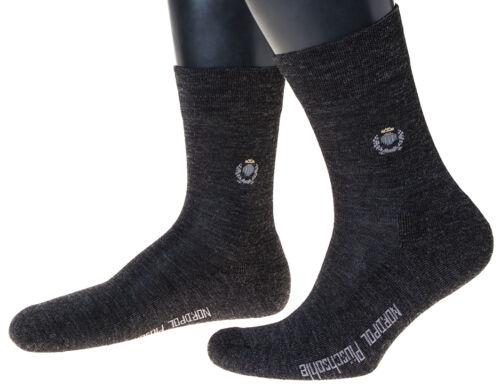 Made in Germany avec peluche semelle 3 paire chaussettes laine avec subtil pages motif