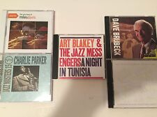 LOT#2 (5) Jazz CD's Music, Charlie Parker, Art Blakey, Miles Davis (Jazz 02)