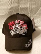 Bandana Fitted Route 66 USA Black /& White