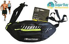 Karrimor Gt X Luz reflectante en la cadera Waistpack Bum Waist Bag Black