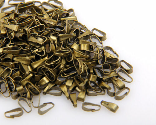 wholesale 300pcs//1000pcs//2500pcs SPRING BAILS Pendant Findings 4 color