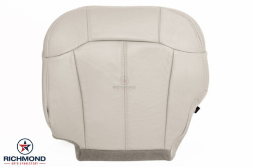 Driver Side Bottom Leather Seat Cover Tan 00 01 02 Chevy Suburban Tahoe LT Z71