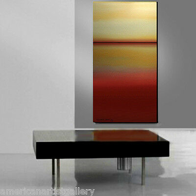 LARGE 24x48 ORIGINAL Abstract Landscape Modern Art by Thomas John