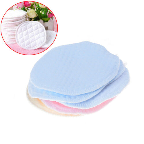 6x Reusable Washable Absorbent Mom Baby Breast Feeding Nursing Pads  Supply  J/&C