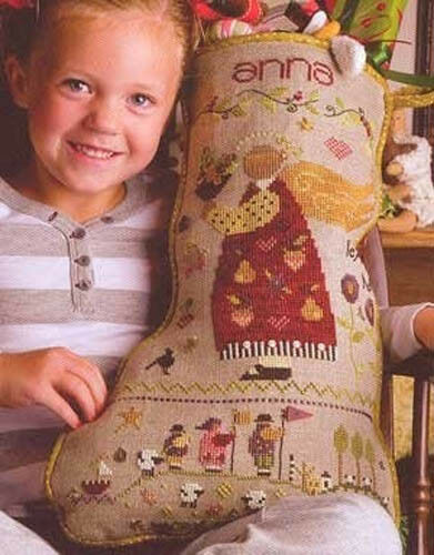 Anna/'s Stocking Shepherd/'s Bush Cross Stitch Pattern or Kit