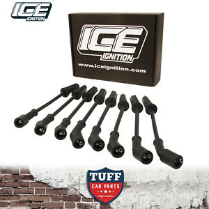 VZ-Holden-Commodore-L98-6lt-V8-9mm-ICE-Ignition-Performance-Leads-Black-Lead-Set