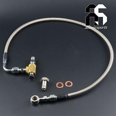 "Turbo Oil Feed line Kit M10 x 1.25mm TD04 TD05 TD06 40/"""