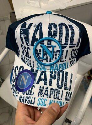 1 CAPPELLO NAPOLI BASEBALL CAP SSC NAPOLI Navy ENZO CASTELLANO MIS 56CM