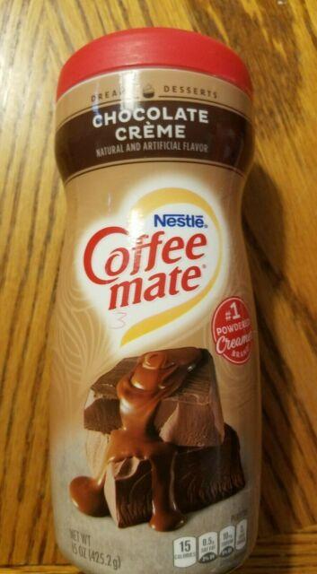 NEW 15 OZ. NESTLE COFFEE MATE CHOCOLATE CREME CREAMER NON ...