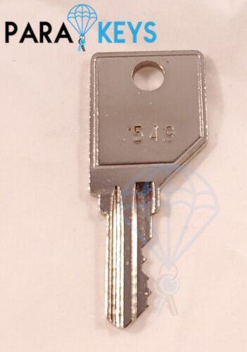 Cut Pundra Teknion Wesko T251-T500 Office Filing Cabinet Key Replacement 2PCS