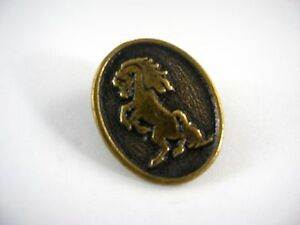 Vintage Collectible Pin: Horse Bucking Bronco Design