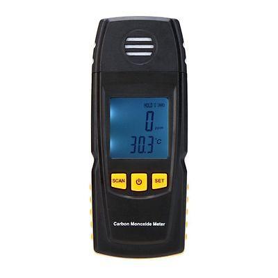 Handheld Carbon Monoxide Meter w/ High Precision CO Gas Tester Monitor Detector