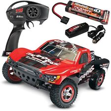 Traxxas Slash RTR 58034-1 Short Course 1/10 Truck w/QUICK CHARGER - MARK JENKINS