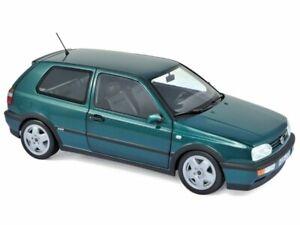 VW Volkswagen Golf VR6 - 1996 - greenmetallic - Norev 1:18