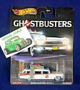 Ecto-1 Ghostbusters Retro Entertainment in 1:64 Hot Wheels GJR39 DMC55