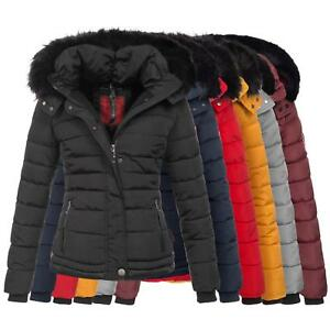 foderato trapuntato Ladies trapuntato New Parka Jacket Winter Warm Cappotto B301 Navahoo T5qY8wn