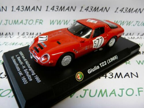 Giulia TZ2 1965 IT74M voiture 1//43 ALFA ROMEO