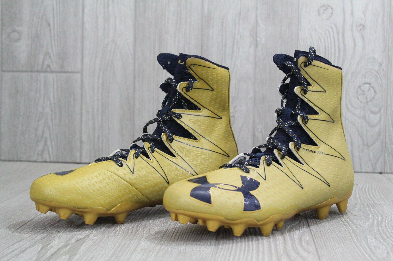 cb29ac4fc ... 32 Under Armour UA Highlight MC Football Football Football Cleats Gold  1294744-795 Mens 10.5 ...