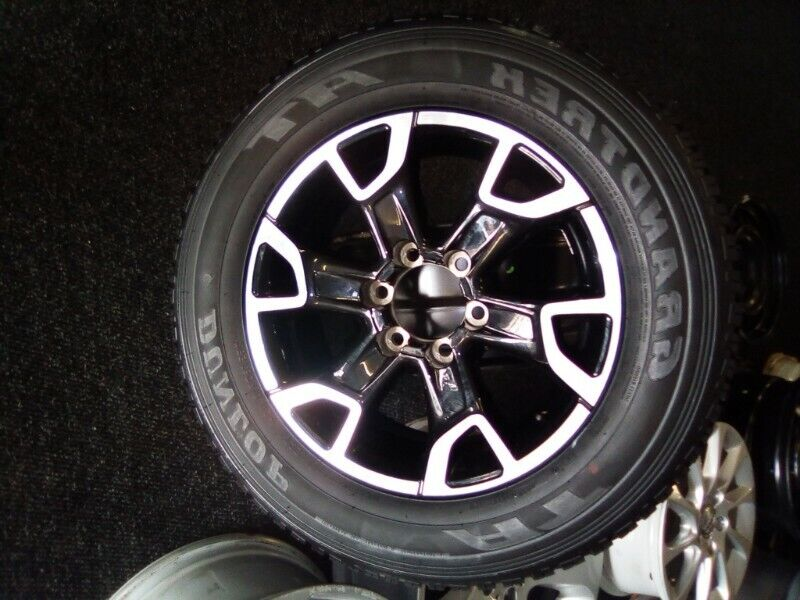 """18"""" Toyota Legend 50 original mag with brand new 265/60/18 Dunlop AT to use for spare R365"""
