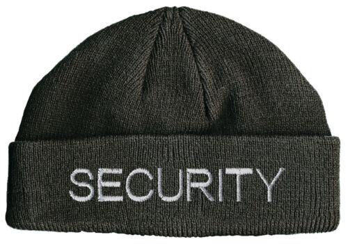 Beanie Hip-Hop Casquette Bonnet en Laine Bonnet stick motif 51048 security *