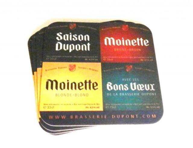 4 Brasserie Dupont Belgian Beermats / Coasters
