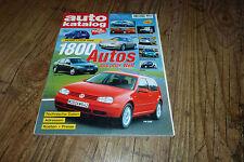 Auto Katalog 9 Kataloge von 1990/1991 - 1998/1999
