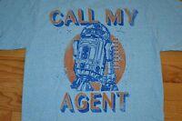 Star Wars R2d2 call My Agent By: Fifth Sun T-shirt Men's Size: Medium