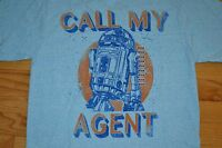 Star Wars R2d2 call My Agent By: Fifth Sun T-shirt Men's Size: Large