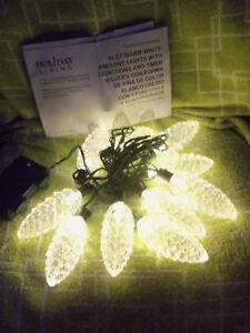 LARGE-PINECONE-10-CT-STRING-LIGHTS-3-FUNCTIONS-W-TIMER-BATTERY-POWERED-NIB